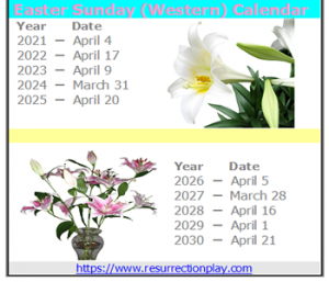 Easter Calendar Logo